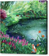A Spring Day In The Garden Acrylic Print