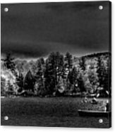 A Spring Day On Old Forge Pond Acrylic Print