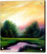 A Spring Evening Acrylic Print