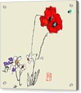 A Spring Look Acrylic Print