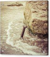 A Stake In The Beach Acrylic Print