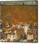 A State Procession Of Raja Tulsaji Acrylic Print