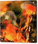 A Sting Like Fire Acrylic Print