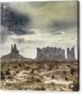 A Storm's Coming Acrylic Print