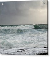 A Stormy Day In Doolin Acrylic Print