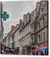 A Street In Boulogne Acrylic Print