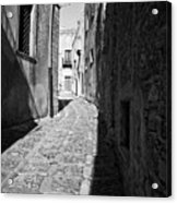 A Street In Sicily Acrylic Print