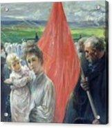 A Strike At Saint Ouen Acrylic Print
