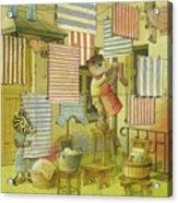 A Striped Story03 Acrylic Print