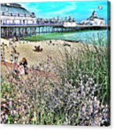 A Stroll At The Seaside  Acrylic Print