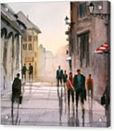 A Stroll In Italy Acrylic Print