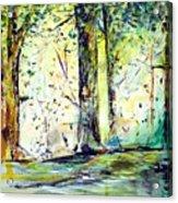 A Stroll On East 93rd Acrylic Print