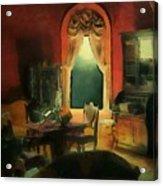 A Study In Scarlet Acrylic Print