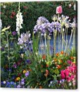 A Summer Garden Acrylic Print