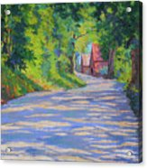 A Summer Road Acrylic Print