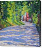 A Summer Road Acrylic Print
