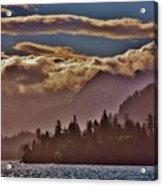 A Sunny Day On The Kachemak Bay Acrylic Print
