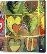 A Sunny Valentine Acrylic Print