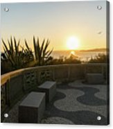 A Sunset Relaxation Zone - Acrylic Print