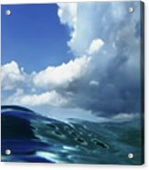 A Surfer's View Acrylic Print