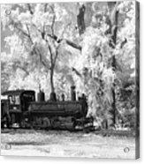 A Surreal Train Ride Acrylic Print