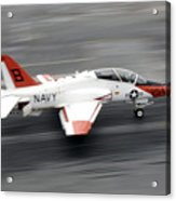 A T-45c Goshawk Training Aircraft Makes Acrylic Print