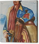 A Texas Horseman Acrylic Print