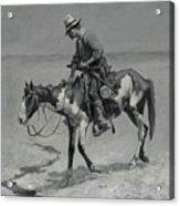 A Texas Pony Acrylic Print