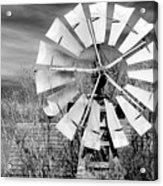 A Texas Windmill Acrylic Print