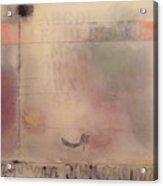 A Thought Of Stillness  Acrylic Print