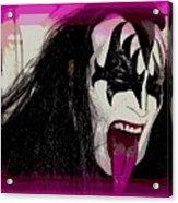 A Tongue Kiss Acrylic Print