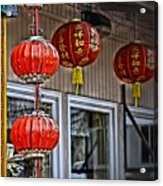 A Touch Of China Acrylic Print