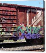 A Train Car Named Desire Acrylic Print