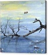 A Tranquil Lake Acrylic Print