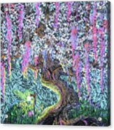 A Tree Of Many Colors Acrylic Print