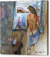 A Tribute To Salvador Dali Acrylic Print