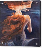 A Trick Of The Light - Love Is Illusion Acrylic Print