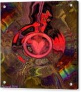 A True Kings Heart Acrylic Print