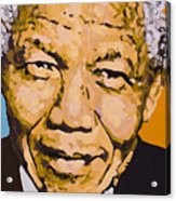 A True Leader With Dignity Personified Acrylic Print