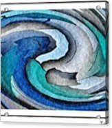 A Turquoise Wind Acrylic Print