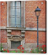 A Typical Italian Street Acrylic Print