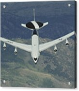 A U.s. Air Force E-3 Sentry Airborne Acrylic Print