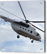 A U.s. Air Force Mi-8 Hip Helicopter Acrylic Print