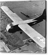 A U.s. Army Air Force Waco Cg-4a Glider Acrylic Print by Stocktrek Images