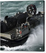 A U.s. Navy Landing Craft Air Cushion Acrylic Print