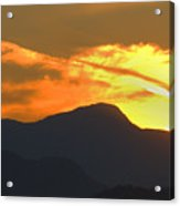 A Vancouver Sunset Acrylic Print