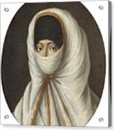 A Veiled Lady Acrylic Print