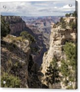 A Vertical View - Grand Canyon Acrylic Print