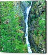 A Very Tall Waterfall Acrylic Print
