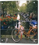 A View Down The Keizersgracht Canal Acrylic Print